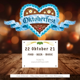 Oktoberfest October Party Germany Beer Garden