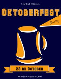 oktoberfest party template