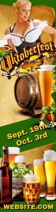 Oktoberfest Skyscaper Template