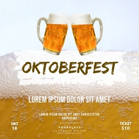 Oktoberfest video Design Template