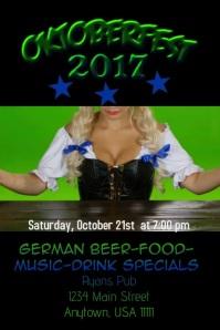 Oktoberfest Video Flyer