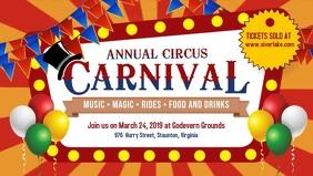 Old Fashioned Circus Digital Display Ad