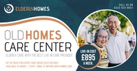 Old Homes Care Facebook Post delt Facebook-billede template