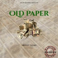 old paper Musi Mixtape/Album Cover A