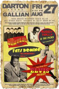 Old School Vintage Rock Antique Concert Poster Fantasy Show Festival Arena Venue Band Gig Live Flyer