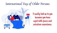 Older Person Mærke template