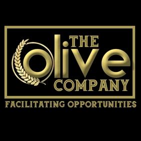 Olive company logo template