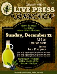 Olive Press Workshop