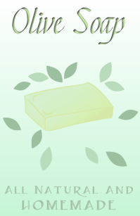 olive soap all natural and homemade