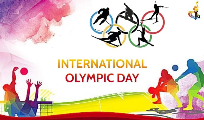 Olympic Day Tanda template