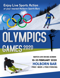 Olympics Games Flyer Template