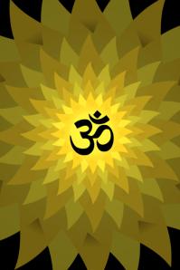 Om Hindu God Template