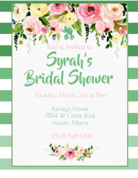 Ombre Bridal Shower
