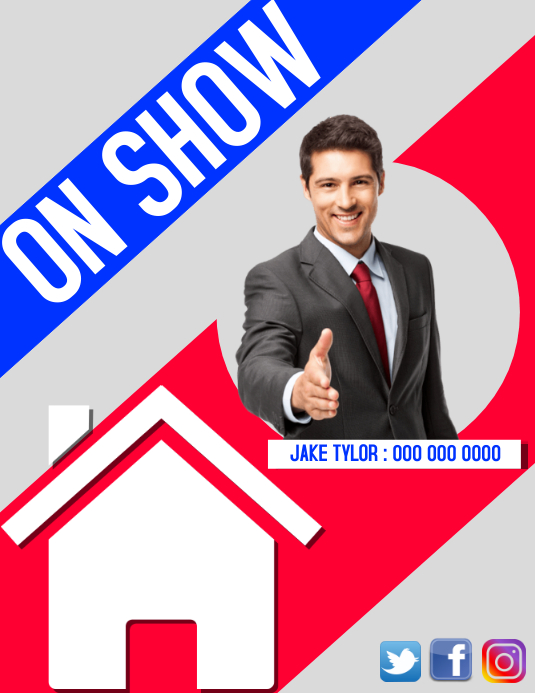 ON SHOW REAL ESTATE FLYER TEMPLATE