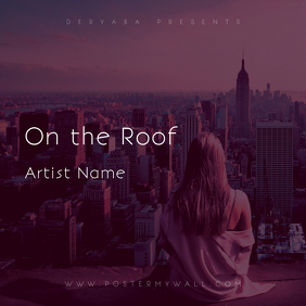 On the Roof CD Cover Template