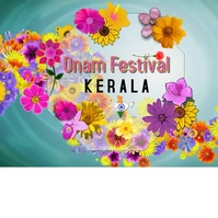 Onam festival/happy onam/India/flowers Instagram Post template