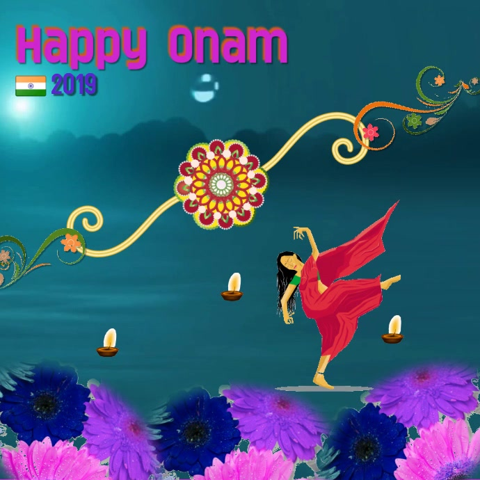 onam festival/India/Instagram post/happy onam