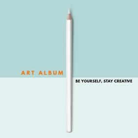 online art album cover