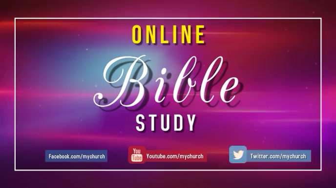 online bible study 数字显示屏 (16:9) template