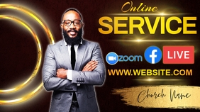 ONLINE BIBLE STUDY Instagram post template Twitch Banner