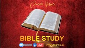ONLINE BIBLE STUDY Instagram post template