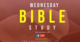 ONLINE BIBLE STUDY TEMPLATE Gedeelde afbeelding op Facebook