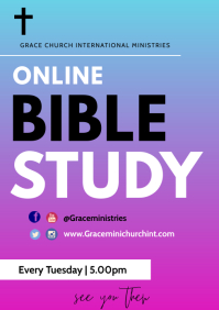ONLINE BIBLE STUDY TEMPLATE A3