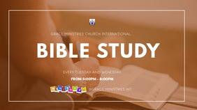 ONLINE BIBLE STUDY TEMPLATE