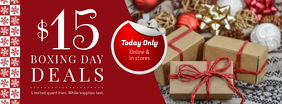 Online Boxing Day Deal Facebook Banner