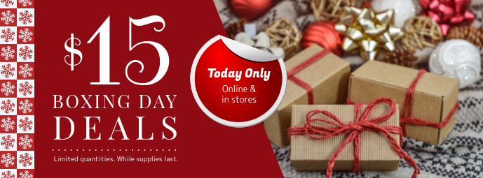 Online Boxing Day Deal Facebook Banner template