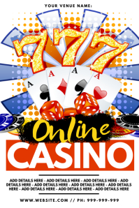 Online Casino Poster