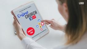 Online Church Ad