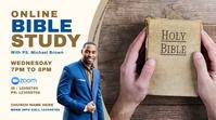 Online Church Bible Study Presentación (16:9) template