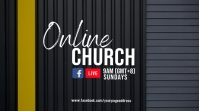 Online church Digital Display (16:9) template