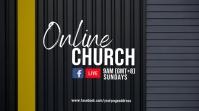 Online church Digital Display (16:9) template