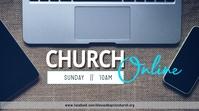Online church 数字显示屏 (16:9) template