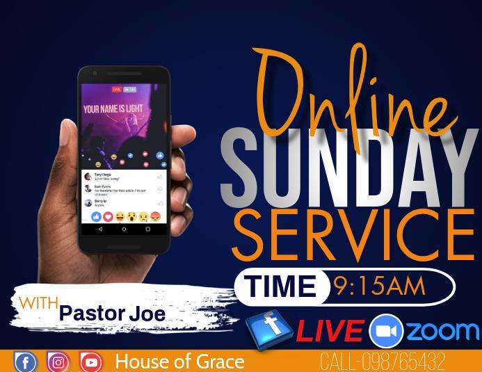 ONLINE CHURCH SERVICE