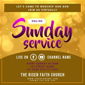 Online Church Sunday Service