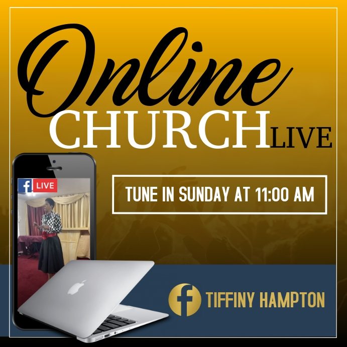 Online Church Template
