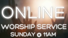Online church worship service