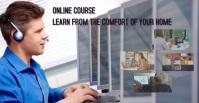 Online Class Facebook Ad template
