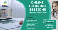 Online Classes ads Facebook-advertentie template