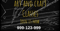 Online classes Immagine condivisa di Facebook template