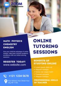 Online Classes Flyer