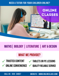 Online Coaching Classess Flyer