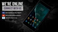 Online Community Digitale Vertoning (16:9) template