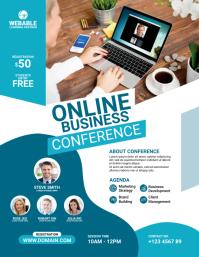 Online Conference Flyer
