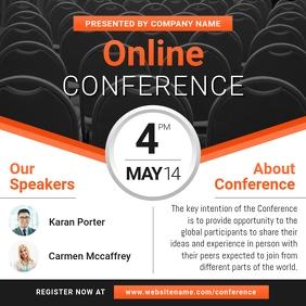 Online Conference Instagram Image