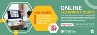Online course facebook cover template