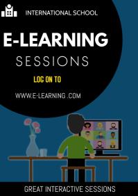 online course flyer